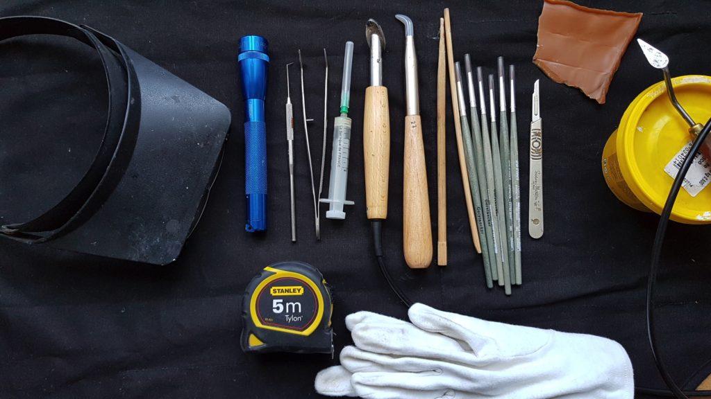 outils utilisés en conservation-restauration